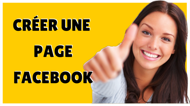 comment faire une page Facebook