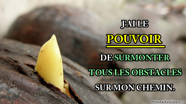 surmonter les obstacles