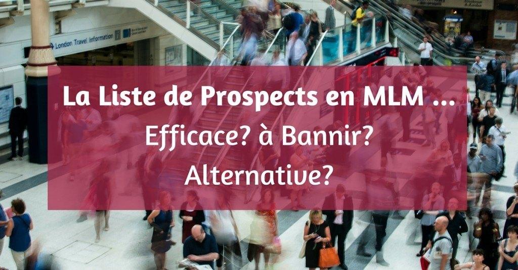 Liste de prospects MLM