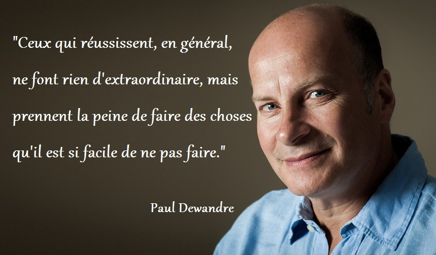 citation réussite paul dewandre