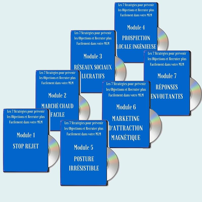 pack DVD 7 stratégies