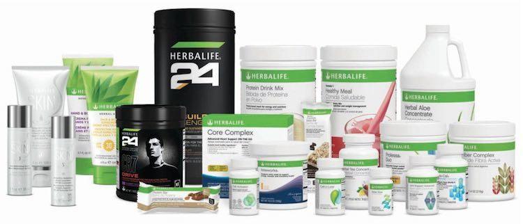 gamme produits herbalife prix